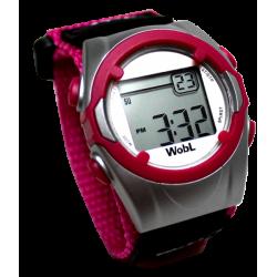 WobL trilhorloge Roze
